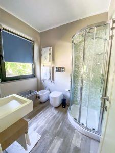 Villa Sunset : Bagno con doccia