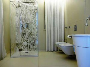 Villa Luce : Ванная комната с душем