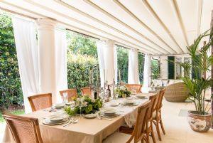 Villa Nicole : Veranda