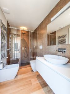 Appartamento Moscato : Bathroom with shower