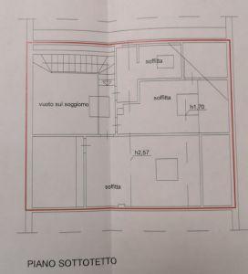 Appartamento Ercole : Planimetria