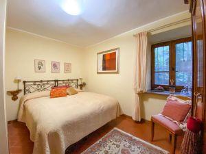 Villa Ginevra : спальня с двуспальной кроватью
