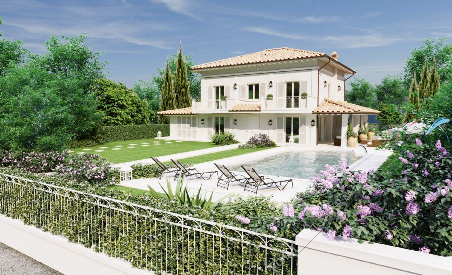Villa Undina Detached villa  for sale  Forte dei Marmi
