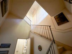 Villa Visconti : Marble stairs