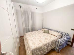 Villa Water : спальня с двуспальной кроватью