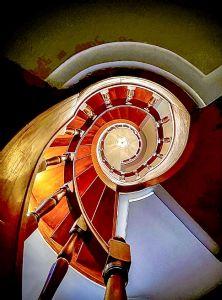 Villa Santa Lucia : Wooden stairs