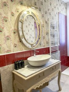Villa Santa Lucia : Bathroom with shower