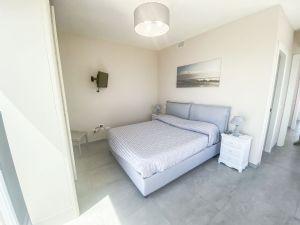 Villa Emotion View : спальня с двуспальной кроватью