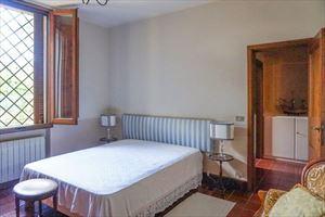 Villa Hermitage : спальня с двуспальной кроватью