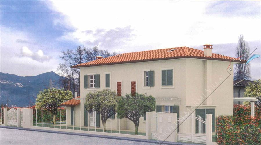 Ville Twins semi detached villa for sale Pietrasanta