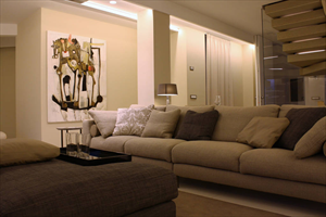 Villa Luce : Vista interna