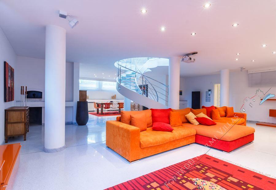 Villa  Brosio  : Salone