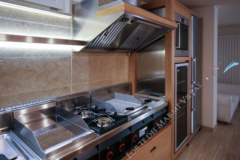 Villa Cristallo Lido : Cucina