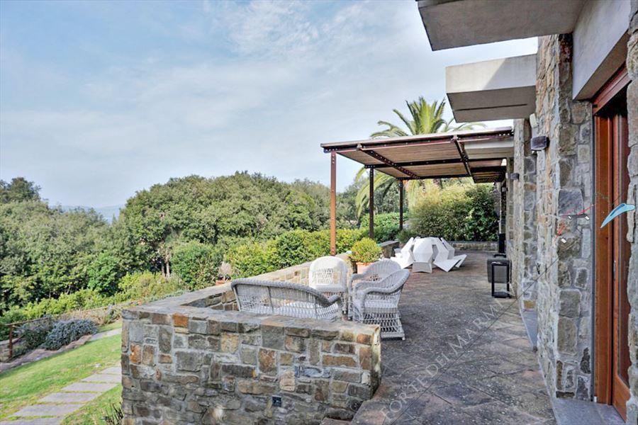 Villa Punta Ala : Veranda