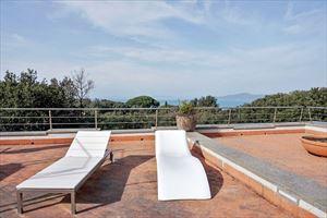 Villa Punta Ala : Терраса