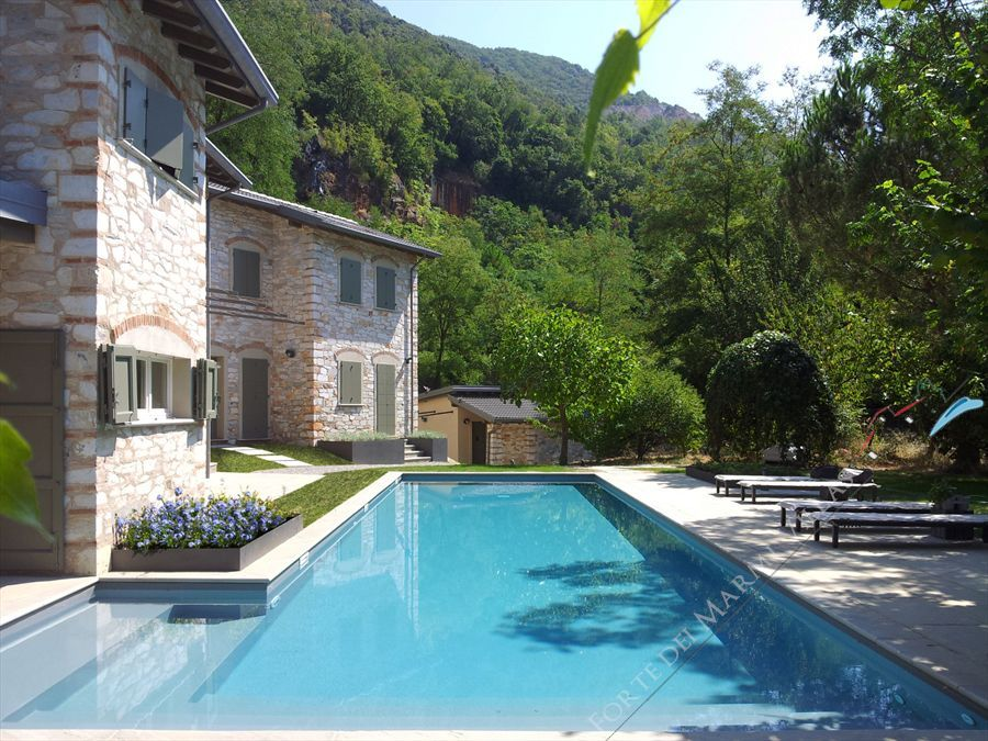Villa Trilogy  detached villa to rent and for sale Pietrasanta