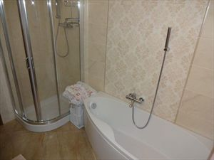 Villa Alfa  : Bathroom with tube