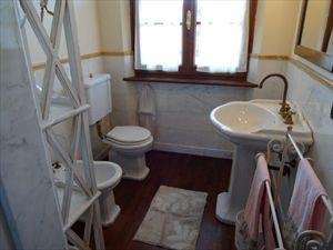 Villa Rosa dei Venti  : туалет