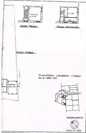 Terratetto con Giardino : Planimetria