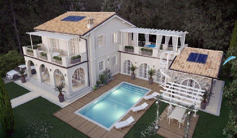Villa Bertelli Forte  : Outside view