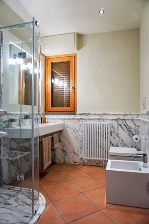 Villa Punta Ala : Bathroom with shower