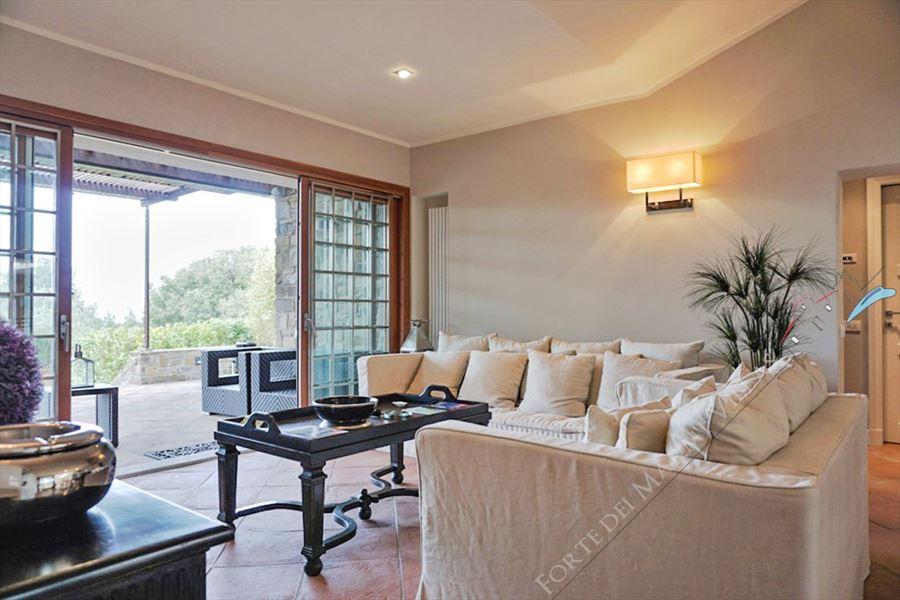 Villa Punta Ala : Salotto