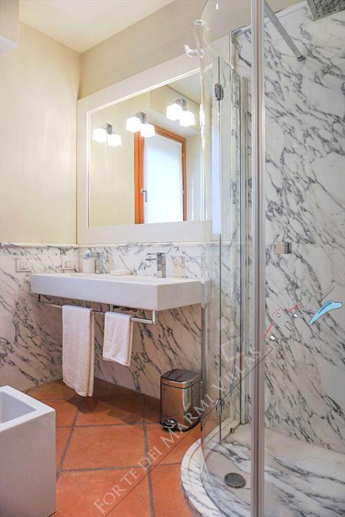Villa Punta Ala : Bagno con doccia