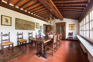 Villa residenza d epoca  : Sala da pranzo