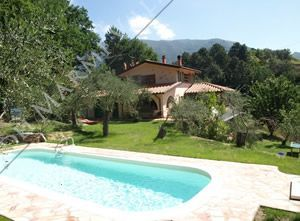 Villa Marianna Detached villa  to rent  Camaiore