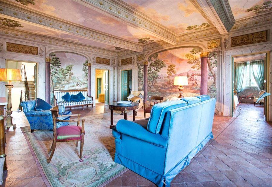 Villa Astri Vista Mare : Salone