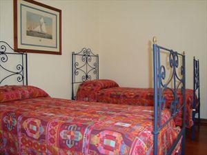 Villa  Amarcord : спальня с двумя кроватями