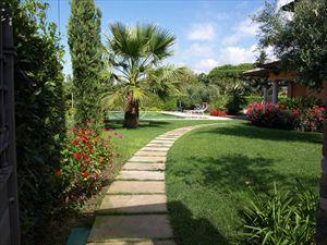 Villa delle Rose : Сад