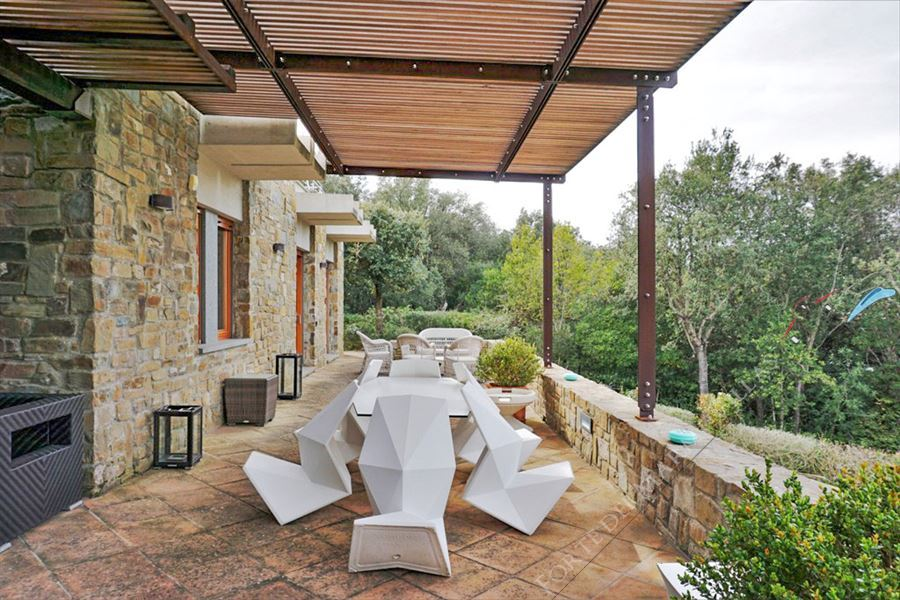 Villa Punta Ala : Terrazza panoramica