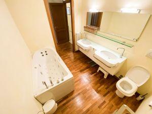 Villa Top Forte : Bagno con vasca