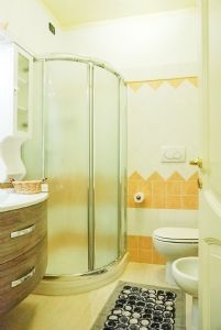 Villa Romantica : Bathroom with shower