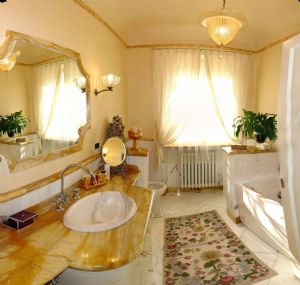 Villa dell Arte : Bathroom with tube