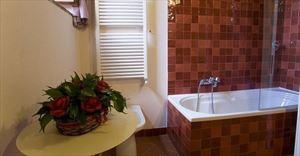 Tenuta Chianti Classico : Ванная комната с ванной