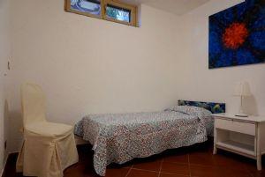 Villa Splendida : спальня с односпальной кроватью