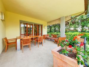 Villa Donatello : Veranda