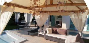Villa Simpatica  : Veranda