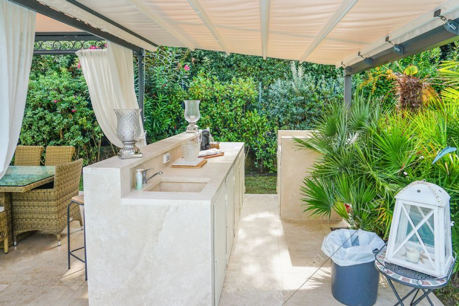Villa Mareggiata  : Veranda