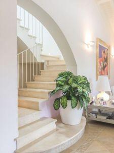 Villa Italia : мраморная лестница