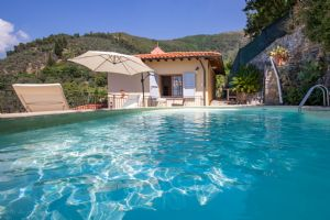 Villa Charme Toscana vista mare  : Swimming pool