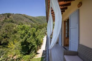 Villa Charme Toscana vista mare  : Терраса