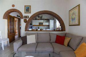 Villa Charme Toscana vista mare  : Гостиная