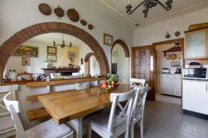 Villa Charme Toscana vista mare  : Кухня