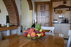 Villa Charme Toscana vista mare  : Столовая