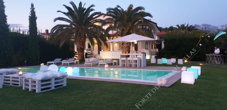 Villa Valentina  - Detached villa to Rent Forte dei Marmi