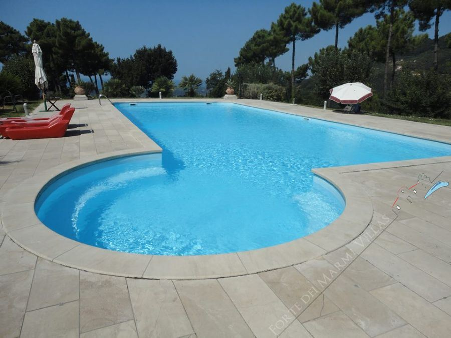 Villa Imperium  Detached villa  to rent  Camaiore