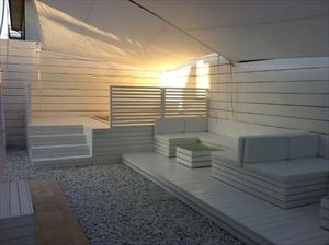 Villa Cristallo Lido : Relax area